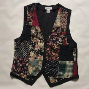 Vintage Express Button-Up Vest